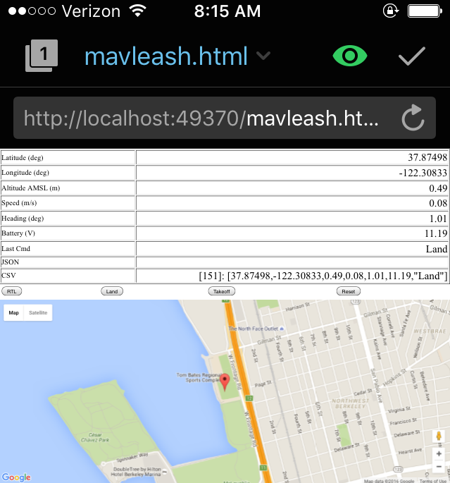 iOS Mobile client